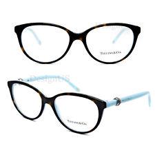 66854ec553e3 TF2113 8134 Dark Tortoise Blue 52 16 140 Eyeglasses Rx Italy - New -TIFFANY    CO. TF2113 8134 Dark Tortoise Blue 52 16 140 Eyeglasses Rx Italy - New