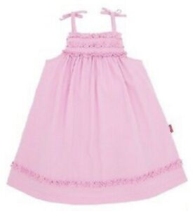 NEW-Le-Top-Toddler-Girl-Summer-Pink-Sundress-Size-2T-NWT