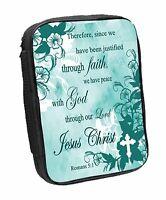 Romans 5:1 Bible Cover (81412) Justified Through Faith