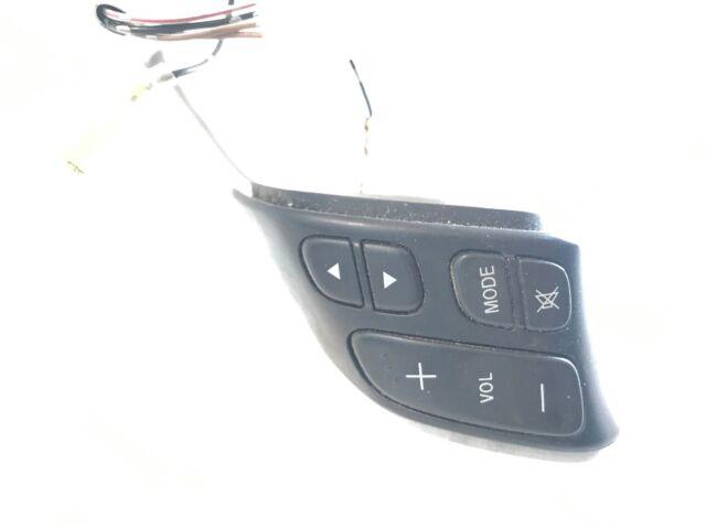 mazda 5 steering wheel radio volume control switch 153769-lh genuine 2005 -2010