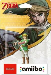 Amiibo Link (Twilight Princess) (The Legend Of Zelda) Brand New - Region Free