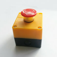 Us Stock Red Sign Emergency Stop Push Button 660v 10a Switch Ce