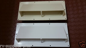 RV Mobile Home Parts  Range hood Stove Vent With Damper Ventline Nu-Tru- White.