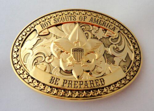 Boy Scouts of America Beautiful GOLD BSA Belt Buckle Great Eagle Gift Idea