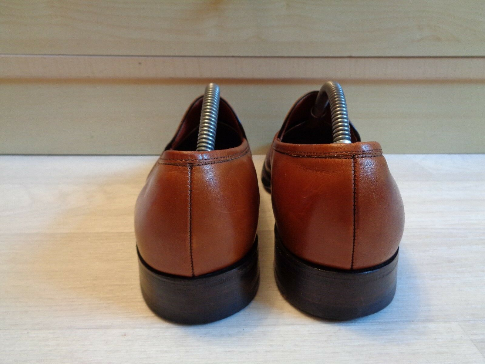 Barker full Leder Custom UK Grade tassel loafer UK Custom 6.5 40.5 Goodyear welt slip on 22e47d