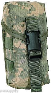 100% De Qualité Triple Munitions Etui à Chargeur Modulaire Mou Armée Acu Digital Camouflage Fox