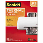 Scotch Letter Size Thermal Laminating Pouches - TP3854200