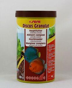Sera-Discus-Granulat-1000ml-Hauptfutter-fur-Diskus-Fische-19-95-L