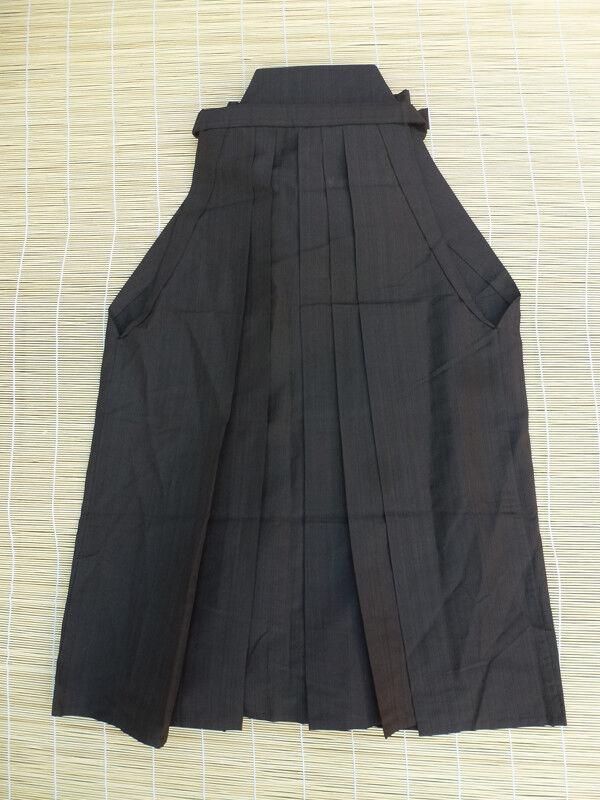 Japanese Vintage Andon Hakama, Woven Stripe, Skirt Type