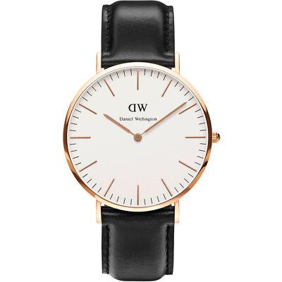 NEW Daniel Wellington Classic Sheffield 40mm Rose Gold Watch