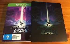 Xbox-One-Agents-of-Mayhem-Steel-Case-Collectors-Edition-LIKE-NEW-XB1-Xbox-1