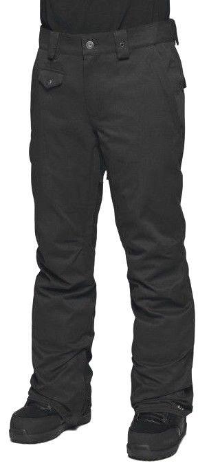 Thirtytwo Essex 10K Snowboard Hombre Pantalones Esquí Grande Negra Nuevo