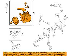 08 subaru impreza parts diagram 2008 subaru impreza engine diagram subaru oem 08-14 impreza-power steering pump 34430fg040 | ebay #5