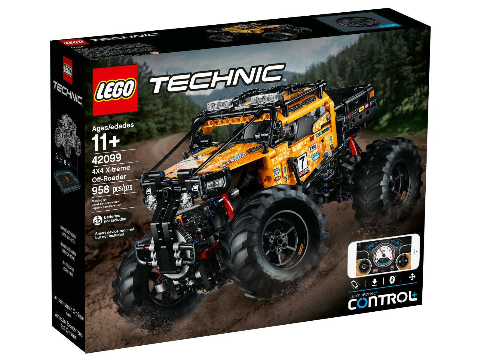 LEGO ® Technic 42099 sagomate Xtreme-FUORISTRADA NUOVO OVP SPEDIZIONE LAMPO    acquistare ora