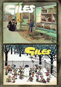 Qq 6 Four Giles Comic Cartoon Books Wear Ebay