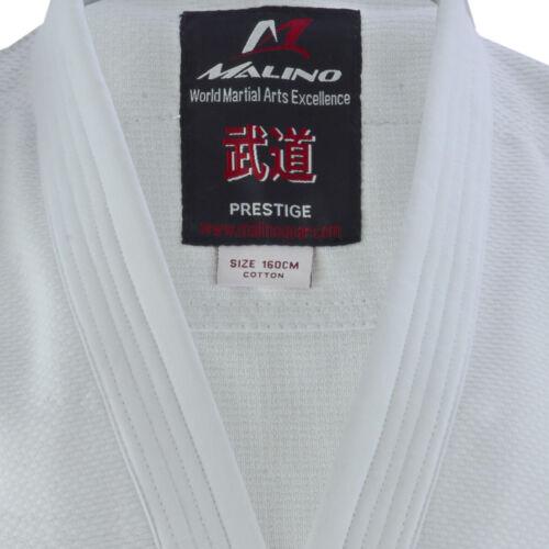 Malino Student Judo Gi Suit Kids Uniform Adult Men Sizes Poly-Cotton 450g White