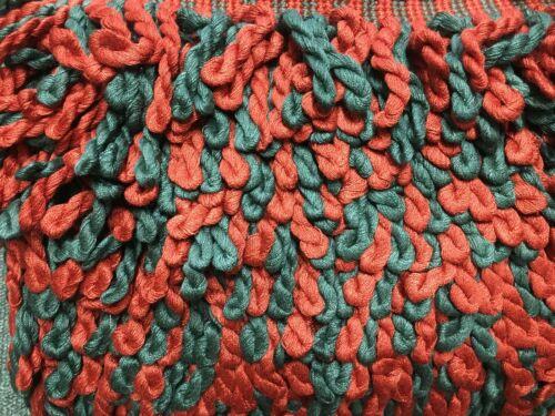 bullion 8cm deep Barley twist braid curtain 2 tone colour furniture trim