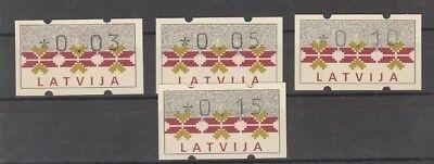 24560 Lettland MöChten Sie Einheimische Chinesische Produkte Kaufen? 1994 Automatenmarkensatz 1 **,