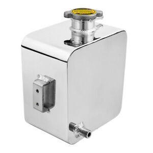 Universal-Aluminium-2L-Radiator-Coolant-Recovery-Overflow-Expansion-Tank-Polish