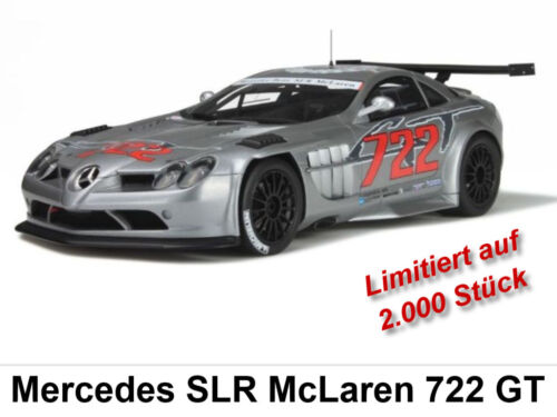 Mercedes slr mclaren 722 GT limitado 2.000 trozo GT Spirit 1:18 nuevo