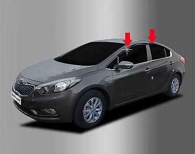 Window Smoke Visor Vent 4p For 2008 2012 Kia Forte Sedan