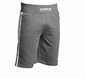 Aidas-Trainings-Shorts-aditb161-Boxing-Club-in-grau-Groesse-L-Sport-u-Freizeit