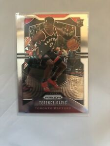 2019-20-PANINI-CHRONICLES-Prizm-Update-Terence-Davis-Rookie-RC-Card-509-Raptors