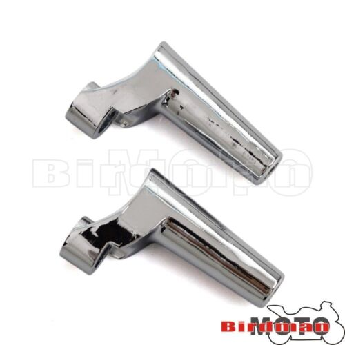 Paire Chrome r/&l turn signal Relocation Kit Fit Harley 88-later XL 91-05 DYNA NEUF
