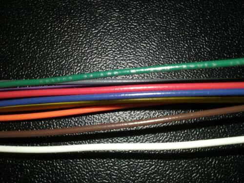 24 AWG Gauge Stranded Hook Up Wire Kit 25 ft Ea 10 Colors UL1007 300 Volt
