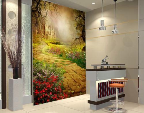 3D Wald Wald Wald Schloss 73 Tapete Wandgemälde Tapete Tapeten Bild Familie DE Summer  | Sonderangebot  | Smart  | Vorzügliche Verarbeitung  a9e0d1