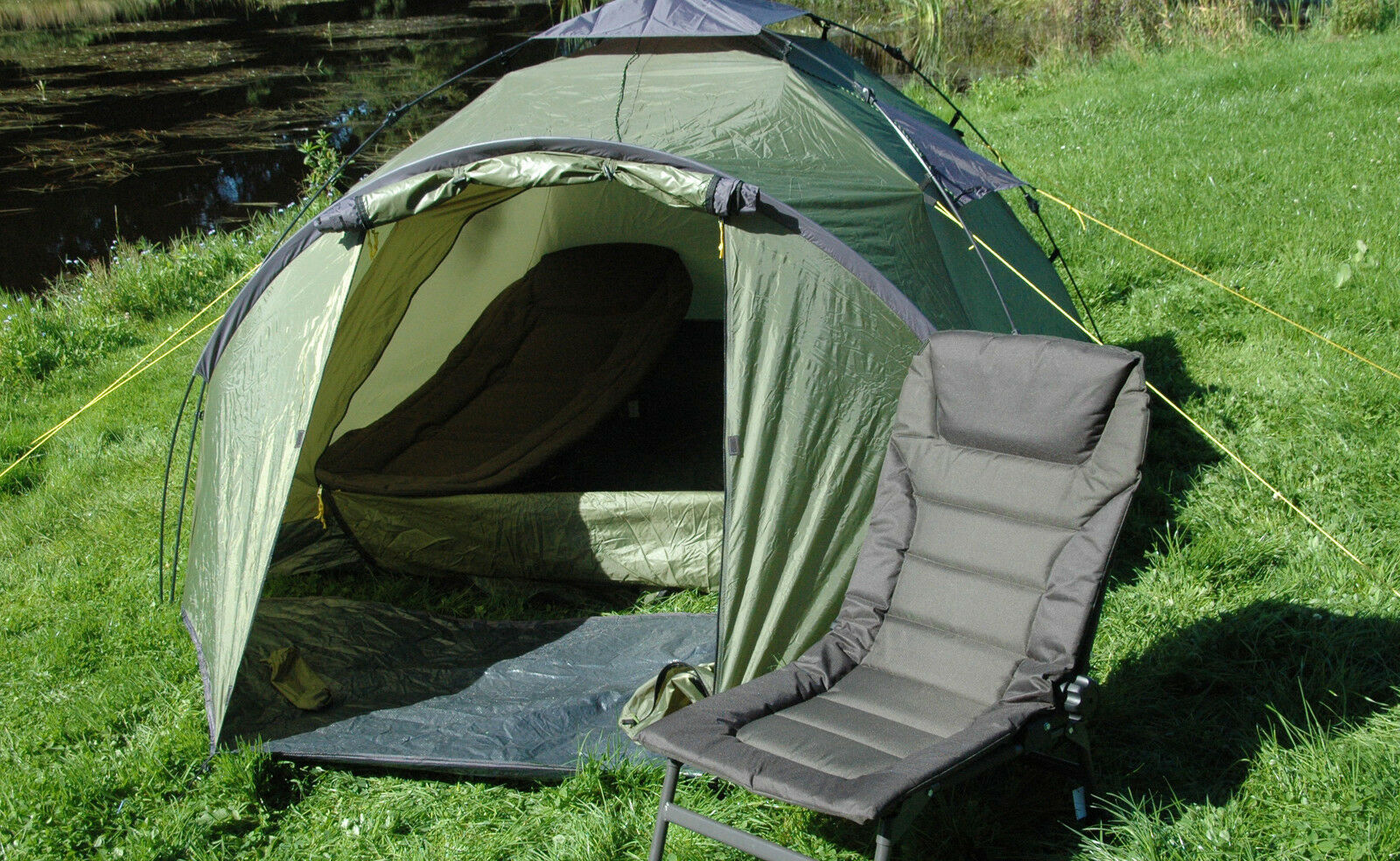 Scotwild Easy Up 2 Pelle Bivvy Rapido Tenda eretta RRP £149.99