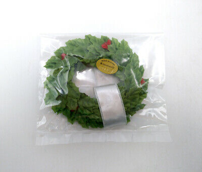 "Fit For 18/""American Girl New Green Wreath From MYAG WINTER CHALET Doll Accessory"