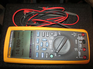 fluke 73 series ii multimeter manual