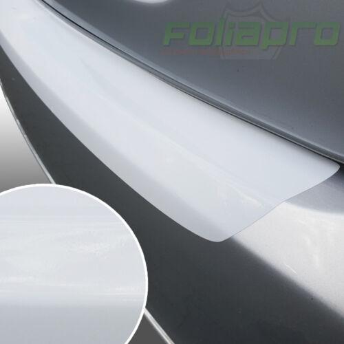 Seuil Lackschutz aluminium pour Opel Corsa D à partir de 2006 blanc brillant