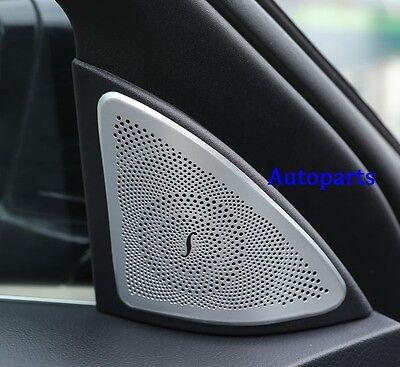 Door sound Stereo Speaker Cover Chrome trim For Benz S Class 4Door W222 2014+