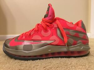Nike Air Max Lebron XI 11 Low Maison Du Hyper Punch  683256-064 ... 218244851