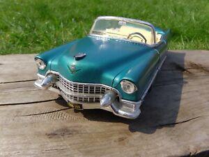 Solido-1-21-5-Cadillac-Eldorado-1955-metalico-cerceta-verde-American-Car-Model-Toy