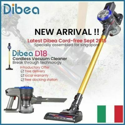 Professionale Polvere per Dibea D18 Wireless Aspirapolvere Nero /& Nuovo Au