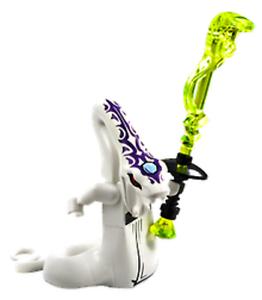 LEGO Ninjago Pythor P Chumsworth Serpentine White Snake - LEGO® 70596