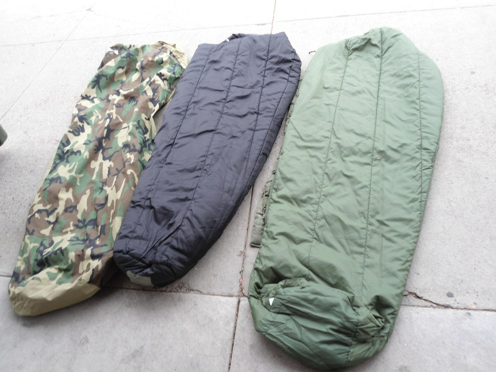 NEW 4 PIECE US MILITARY  MODULAR SLEEP SYSTEM WITH BIVY COVER  offering store