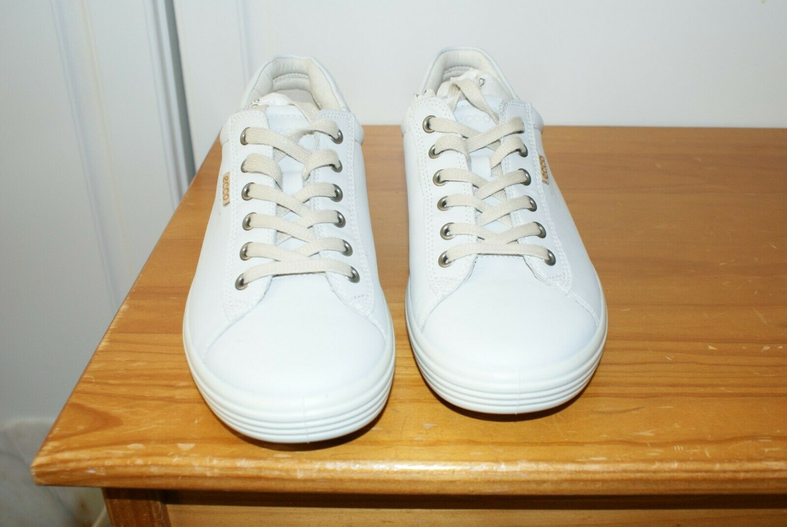 ECCO Women's Soft 7 Fashion Sneaker -size 11- 11.5 430233 WHITE
