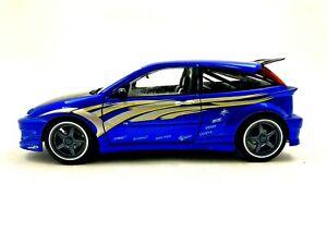 2000 Mattel Hot Wheels FORD FOCUS 1/18 Scale Diecast Car #506
