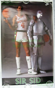 Vintage-NIKE-Poster-SIR-SID-Sidney-Moncrief-NBA-Milwaukee-Bucks-Plate-Armour
