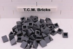 TCM Compatible Bricks 100 pieces Light Bluish Gray Plate 2 x 4 QTY