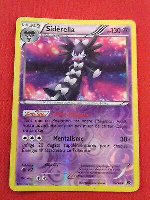 Carte Pokemon SIDERELLA 54//145 Rare REVERSE Soleil et Lune 2 SL2 Française NEUF