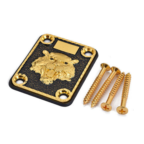 Schrauben Dichtung Set Gitarre Einzigartige goldene E Gitarre Hals Platte