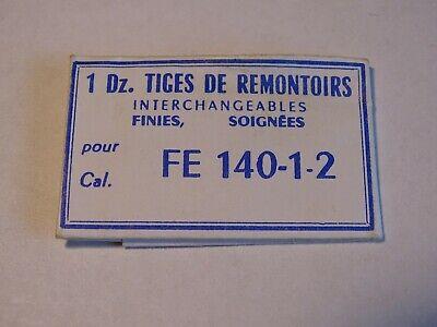 PIÈCE HORLOGERIE MONTRE FE 140-1-2 TIGE DE REMONTOIR