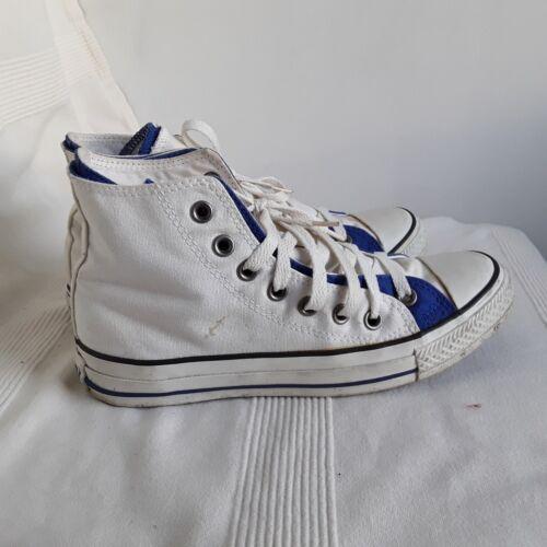 e 5 Blue White High Taglia Top Ladies Converse q7PRtwx47n