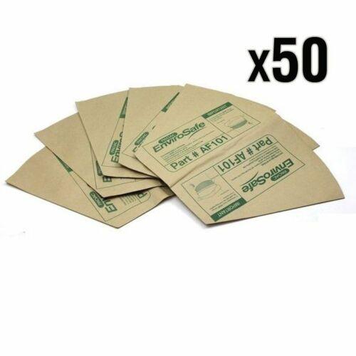 50x Genuine PACVAC Paper bags suit Superpro Series Vacuum AF101-DUB001-DUB019