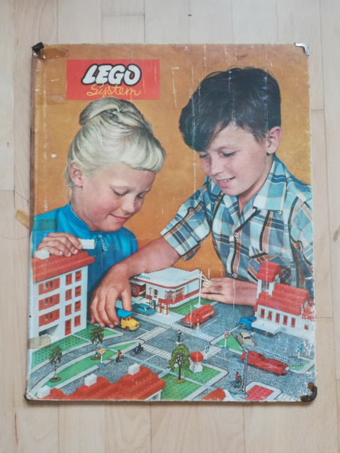 Lego City, Town Plan, LEGO vintage town plan fra omkring…